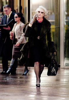 Meryl Streep in the Devil Wears Prada... the movie that began my love for fashion and power.