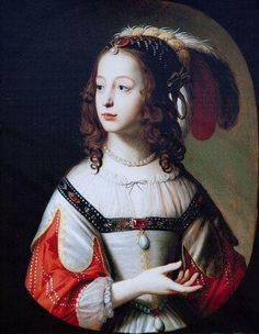 Portrait of Sophia of Hanover , mother of George I. of England and Ireland, Elector of Hanover