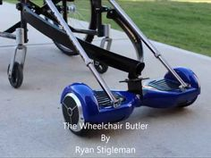 This is a universal powerhouse for any Manual wheelchair and not to be viewed as an electric wheelchair just a helping hand I have made this video to show wh. Adaptive Equipment, Outdoor Power Equipment, Manual Wheelchair, Wheelchair Accessories, Golf Trolley, Trailer Build, Balance Bike, Cargo Bike, Electric Bicycle