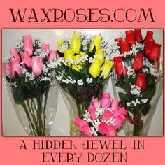 Juliana's Bits and Pieces: Wax Roses - ends 1/17
