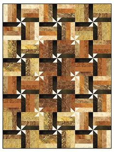 Jelly roll friendly. Wrap it Up! Quilt Pattern. Maybe for Primitive Gatherings charms??