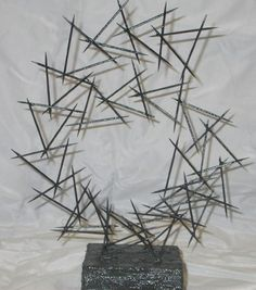 Art Lesson Plan: Linear Toothpick Sculpture
