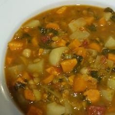 Make-Ahead Vegetarian Moroccan Stew Allrecipes.com