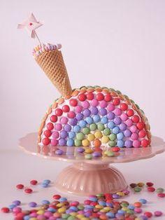 Regenbogenkuchen form