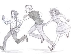 Leo Valdez, Jason Grace, and Piper Mclean.
