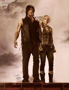 Daryl and Beth