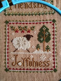 Calico's Whimsy: Final 3 Little Sheep Virtues- Kindness, Gratitude and Joyfulness!