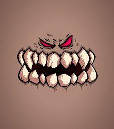 """Monster Face"" by Daniel Ferenčak Graffiti Art, Graffiti Drawing, Graffiti Lettering, Art Drawings, Cartoon Monsters, Cartoon Faces, Cute Monsters, Arte Black, Graffiti Characters"