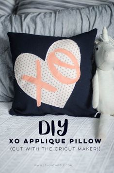 XO DIY Applique Pill