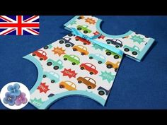 DIY Baby Shower Invitations or Baptism Invitations Baby Shower Ideas Cards Pintura Facil - YouTube