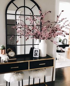 Glam Luxe Entryway Modern Home Decor Glamorous Luxury Style