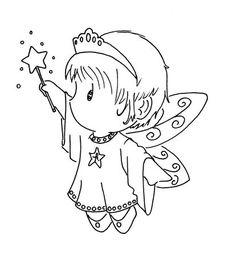 free fairy stamp - gorgeous!
