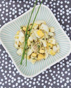 Swedish Egg Salad with Anchovies - Gubbrora | Sweet Paul Magazine