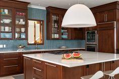 Modern Kitchen colorful backsplashes Design Ideas, Pictures, Remodel and Decor