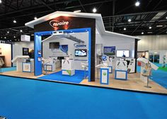 Exhibition stand for Nuaire at Ecobuild
