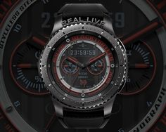 Watchface of Black Turtles – We are making the watch face of Samsung gear. Thank you for coming! Cool Watches, Watches For Men, Men's Watches, Digital Clocks, Watch Faces, Luxury Watches, Illusions, Smart Watch, Turtles
