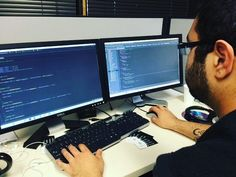 Working hard before the weekend.  #html #css #freelance #freelancing #c #cpp #csharp #objective_c #scala  #code #functional #programming #language #data #php #sql #injection #codeblocks #editor #working #python #binary #computerscience #java #coding #project #laptop #software_engineering #javascript