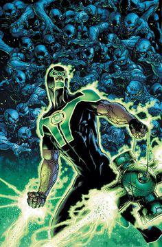 #Green #Lantern #Fan #Art. (GREEN LANTERN #16 Cover) By: DOUG MAHNKE.