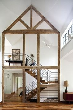 Amazing Exposed Timber Beams & Trusses At Home