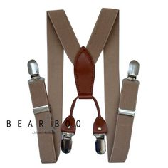 Little Hipster Suspenders at Bear & Boo Children's Boutique