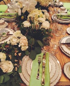 Thanksgiving is 2 days always and our table is already set! What is your holiday style?  #therkgroup #illusionsrentals #illusionsrentalsanddesigns #circadmc #rosemaryscatering #flairfloral #flowers #floral #green #style #holiday #holidays #happyholidays #decor #centerpiece #finechina #tablescape #tablesetting #set #table #decorations #fun #family #friends #happy #thanksgiving #thanks #givethanks #grateful Holiday Style, Holiday Fashion, Rose Marie, Green Style, Centerpieces, Table Decorations, Thanksgiving Table, Give Thanks, Fine China