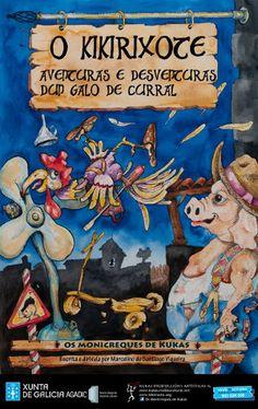 O Kikirixote, aventuras e desventuras dun galo de curral @ Auditorio Municipal - Ourense infantil monicreques escea escena