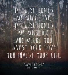 Mumford & Sons - Awake my soul