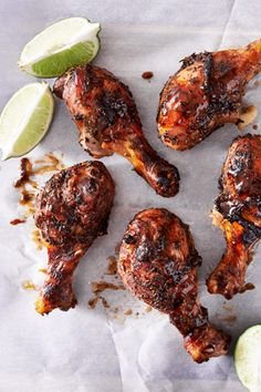 Use Jamaican Jerk Seasoning from Schwartz for this easy-to-make Jerk Chicken Marinade Recipe. It will add just the right amount of heat and spice. Jerk Chicken Marinade, Jerk Chicken Wings, Chicken Marinade Recipes, Marinated Chicken, Tandoori Chicken, Chicken Drumsticks, Grilling Recipes, Jerk Paste Recipe, Jamaican Jerk Seasoning