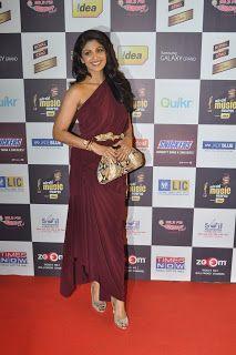 Shilpa Shetty at The 5th Mirchi Music Awards.