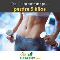 11 exercices pour perdre 5 kilos rapidement