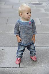 5$ knitting pattern sweater baby toddler