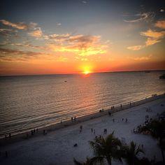 Fort Myers Beach Sunset