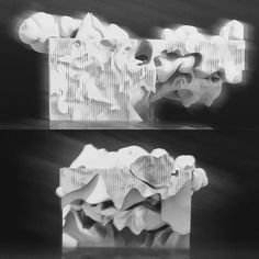 """Another from the midterm of my """"Ghostly"""" vertical studio at SCI-Arc.  This is…"""