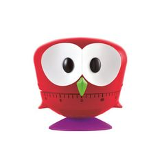 Owl Timer Red, $15, now featured on Fab.