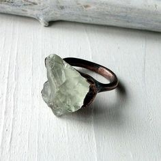 gorgeous raw engagement ring. -To find more wedding planning tips, DIY, dress ideas and more GO TO: www.endingiseternity.com