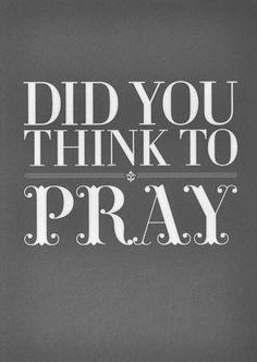 Quotes prayer ✿⊱╮