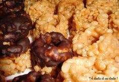 S'mores, Rice Krispies Treats, Rocky Roads : quelques exemples de friandises d'Amérique du Nord.
