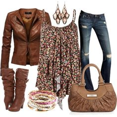 """""""Floral Fantasy"""" by stay-at-home-mom on Polyvore"""
