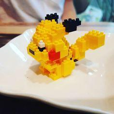 잡았다 요놈  #포켓몬 #피카츄 #나노블럭 #피규어 #poketmonsters #pikachu #nanoblock #굡