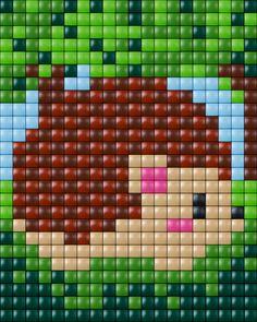 #pixelhobby #pixel #pixelen # creative #beads #egel