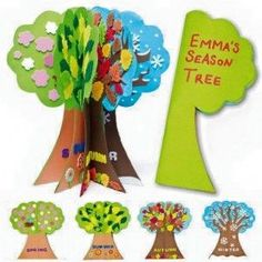 Image result for seasons art and craft