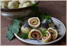 Jogurtové knedlíky Desert Recipes, Dumplings, Acai Bowl, Potato Salad, Sushi, Pizza, Potatoes, Bread, Chicken