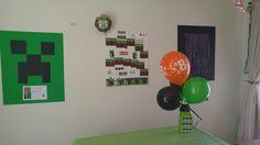 Minecraft Party, Frame, Home Decor, Homemade Home Decor, A Frame, Frames, Hoop, Decoration Home, Interior Decorating