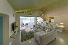 長期滞在可能型のコンドミニアム風のビラ型ホテル。「Villa Gran Suite「PUU」 Villa Gran Suite「KUKKA」」建築・店舗デザイン;名古屋 スーパーボギー http://www.bogey.co.jp