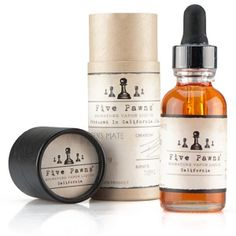 Five Pawns Premium E-LiquidFive Pawns e-juice is made by hand in extremely small batches in California, with handwritten batch numbers included on every bottle. It's stocked at a variety of high-end, boutique vape shops and has earned a strong reputation among the vaping community. We're talking about extremely complex and rich varieties, consisting of 50/50 PG/VG and only the highest-quality ingredients.