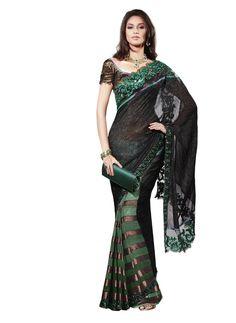 Ethnic Indian Sari Pakistani Wedding Bollywood Saree Partywear New Designer SC…