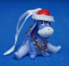 Eeyore from Winnie the Pooh  Disney Hallmark Christmas Ornament 2014 Figurine #Hallmark
