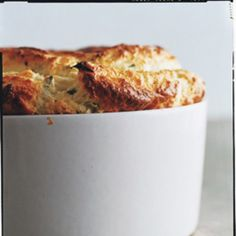 Don't be frightened by the word soufflé. This subtly sophisticated dish isn't difficult at all (just be careful not to overbeat the egg whites).