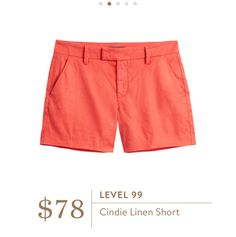 Jeannie - loved the Level 99 shorts i received last year. Would love another pair!.