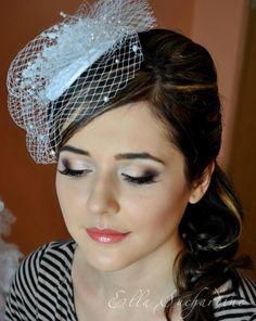 my wedding makeup by Elena